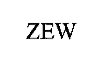 mark for ZEW, trademark #76189277