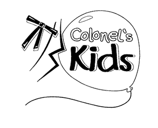 mark for COLONEL'S KIDS, trademark #76190600