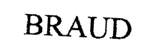 mark for BRAUD, trademark #76196533