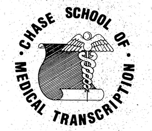 mark for CHASE SCHOOL OF MEDICAL TRANSCRIPTION, trademark #76197398