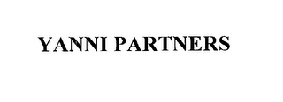 mark for YANNI PARTNERS, trademark #76198320
