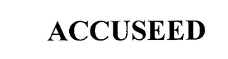 mark for ACCUSEED, trademark #76198764