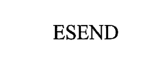 mark for ESEND, trademark #76199035