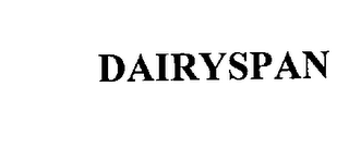 mark for DAIRYSPAN, trademark #76199039