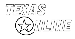 mark for TEXAS ONLINE, trademark #76200377