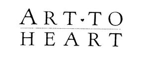 mark for ART TO HEART, trademark #76201474