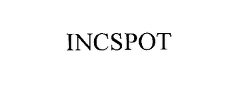 mark for INCSPOT, trademark #76201602