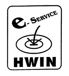 mark for E-SERVICE HWIN, trademark #76202383