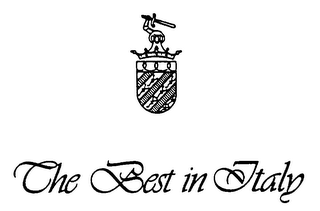 mark for THE BEST IN ITALY, trademark #76202520
