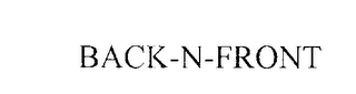 mark for BACK-N-FRONT, trademark #76202772