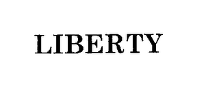 mark for LIBERTY, trademark #76203476