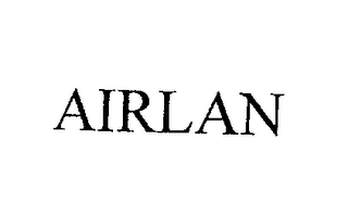 mark for AIRLAN, trademark #76204434