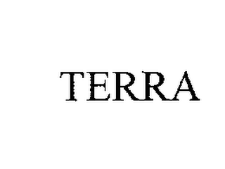 mark for TERRA, trademark #76205273