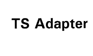 mark for TS ADAPTER, trademark #76205297