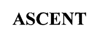 mark for ASCENT, trademark #76205338