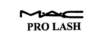 mark for M-A-C PRO LASH, trademark #76206552