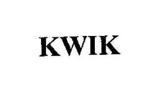 mark for KWIK, trademark #76206792