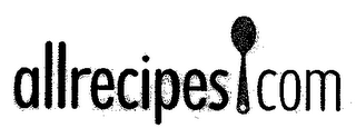 mark for ALLRECIPES COM, trademark #76207364