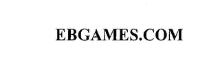 mark for EBGAMES.COM, trademark #76207595