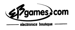 mark for EB GAMES.COM ELECTRONICS BOUTIQUE, trademark #76207596
