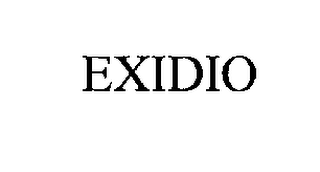 mark for EXIDIO, trademark #76207939