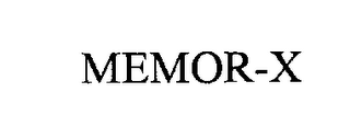 mark for MEMOR-X, trademark #76208244