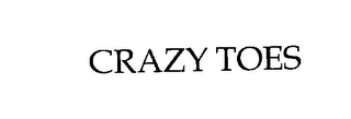 mark for CRAZY TOES, trademark #76208987