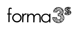 mark for FORMA3S, trademark #76209667