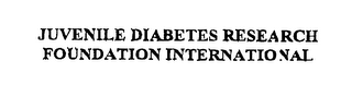 mark for JUVENILE DIABETES RESEARCH FOUNDATION INTERNATIONAL, trademark #76211007