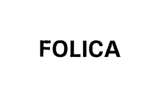 mark for FOLICA, trademark #76211774