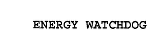 mark for ENERGY WATCHDOG, trademark #76212167
