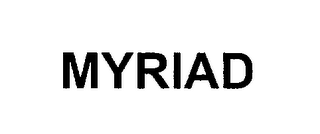 mark for MYRIAD, trademark #76213322