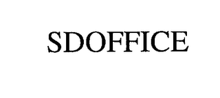mark for SDOFFICE, trademark #76214002