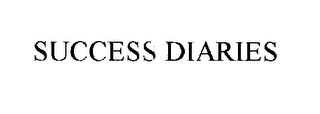 mark for SUCCESS DIARIES, trademark #76215149