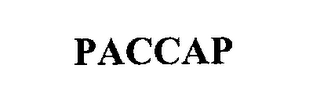 mark for PACCAP, trademark #76215536