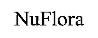 mark for NUFLORA, trademark #76216287