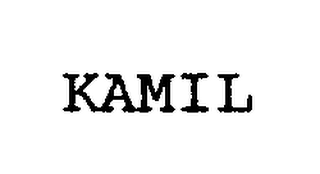 mark for KAMIL, trademark #76217134