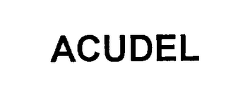 mark for ACUDEL, trademark #76217141