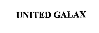 mark for UNITED GALAX, trademark #76217431