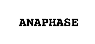 mark for ANAPHASE, trademark #76217663