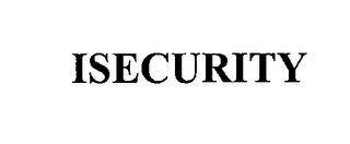 mark for ISECURITY, trademark #76218292