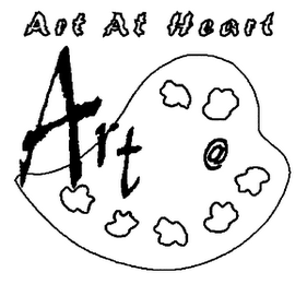mark for ART AT HEART ART @, trademark #76218635