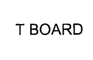 mark for T BOARD, trademark #76218688