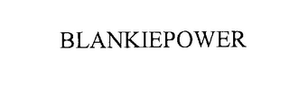 mark for BLANKIEPOWER, trademark #76219139