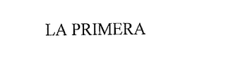 mark for LA PRIMERA, trademark #76219479