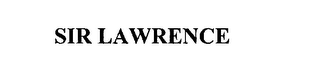 mark for SIR LAWRENCE, trademark #76219721