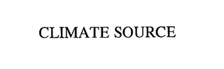 mark for CLIMATE SOURCE, trademark #76220049