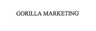 mark for GORILLA MARKETING, trademark #76223836