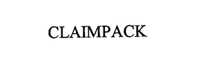 mark for CLAIMPACK, trademark #76224500