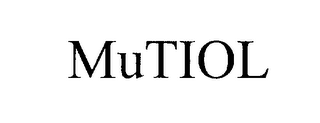 mark for MUTIOL, trademark #76224695